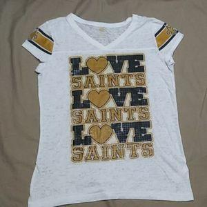 NFL licensed New Orleans Saints tee (A46)